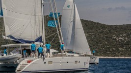 Nava Catamaran regatta 2013